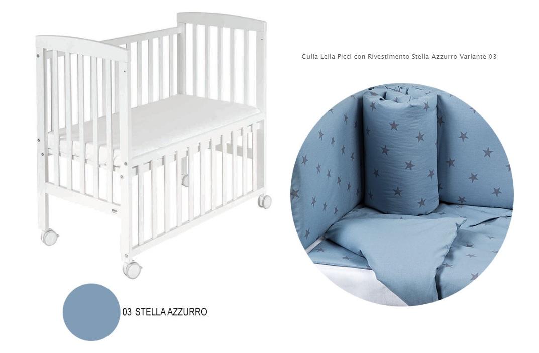 Azzurro Var 03 Ricamo Stella
