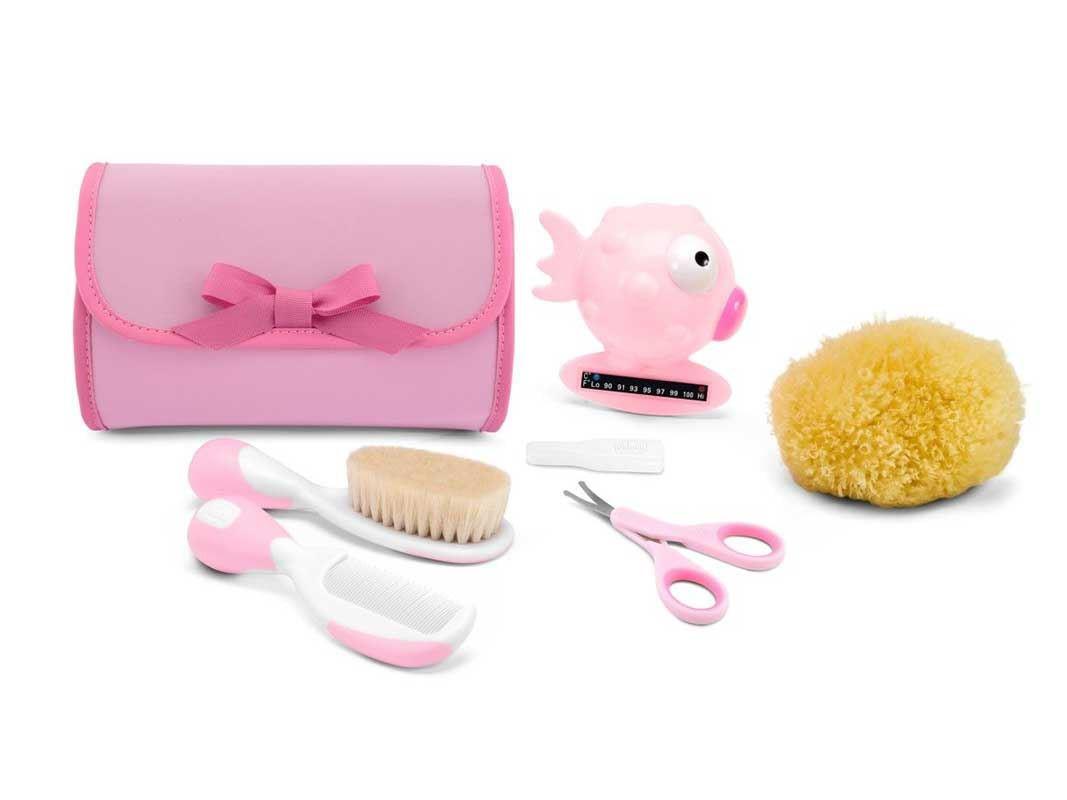 Cameretta Chicco : Set igiene happy bubbles chicco colore rosa in offerta sotto