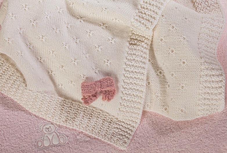 Le copertine per culla ricamiamo insieme con rosanna
