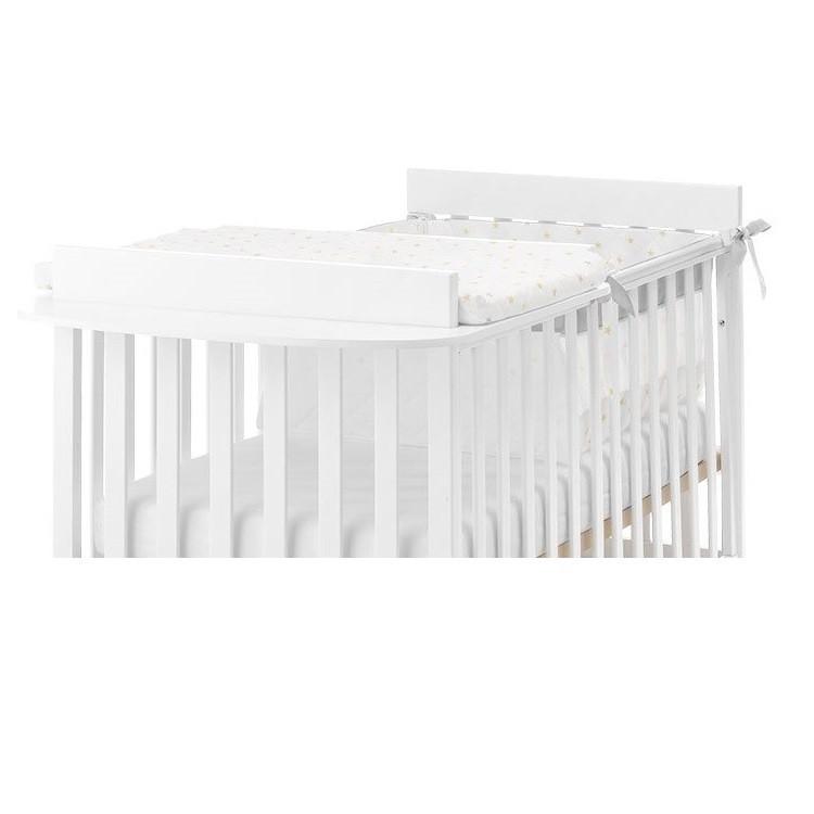 Fasciatoio Tessile Azzurra Homi Baby Space con piano d\'appoggio in legno  Bianco