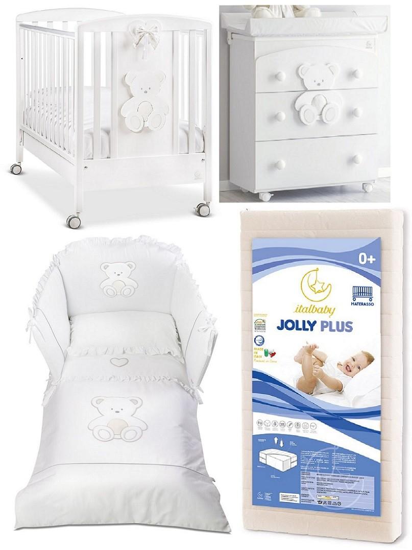 Peluche: Set cameretta neonato Italbaby più dolce e delicata tra le ...