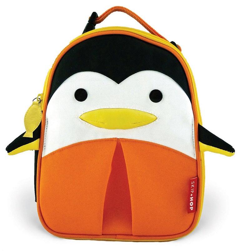 design di qualità 636bf b0cfc Borsa Termica Skip Hop per Asilo Pinguino colore Nero/Arancio