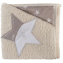 Accappatoio a Triangolo Stella Converse - Picci - colore Sabbia SCONTATO