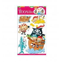 Adesivi decorativi Pirati cod 4090