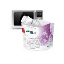 Buste per Sterilizzazione Philips Avent a Vapore nel Forno a Microonde SCF297/05
