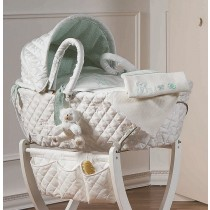 Cesta Port-Enfant Mousse - Dili Best - colore Verde SCONTATA