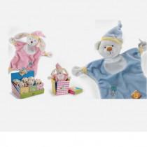 Dou Dou Plush & Company Baby Mio & Mia Sbavoni cm 23