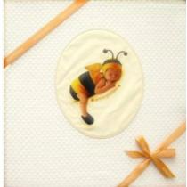 Copertina Culla Anne Geddes in Piquet Baby Bee col. Giallo