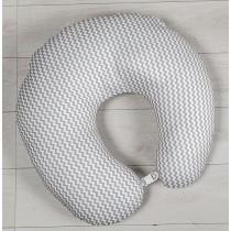 Cuscino Allattamento Picci BoBo Cod PC57001022 Var. 22 Bianco Grigio