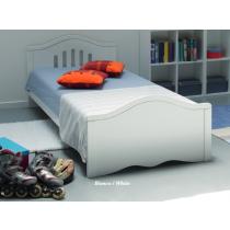 Kit junior per singolo letto Giano - Azzurra - colore Bianco - In Offerta
