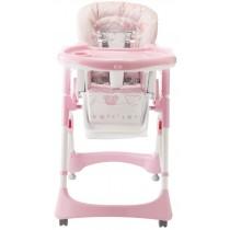 Seggiolone Baby Party Pali Loving Bear Bianco Rosa