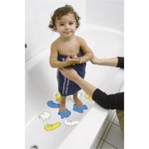 Tappettini Safety 1ST antisivolo per bagno 10 pz