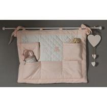 Pannello Murale Mousse - Dili Best - colore Bianco Rosa SCONTATO