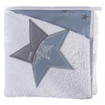 Accappatoio a Triangolo Stella Converse - Picci - colore Azzurro SCONTATO