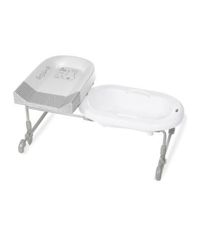 Bagnotime bagnetto faciatoio brevi revesibile si installa su vasche da bagno piedini a - Brevi bagnotime prezzo ...
