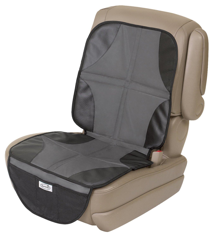 1 Pezzo Proteggi di Sedili Auto Impermeabile Coprisedile Seggiolino Auto per Bambini o Beb/è Previene Sporco e Danni con Organizer Pocket