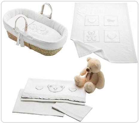 Cesta porta enfant loving bear pali colore bianco - Ceste porta enfant ...